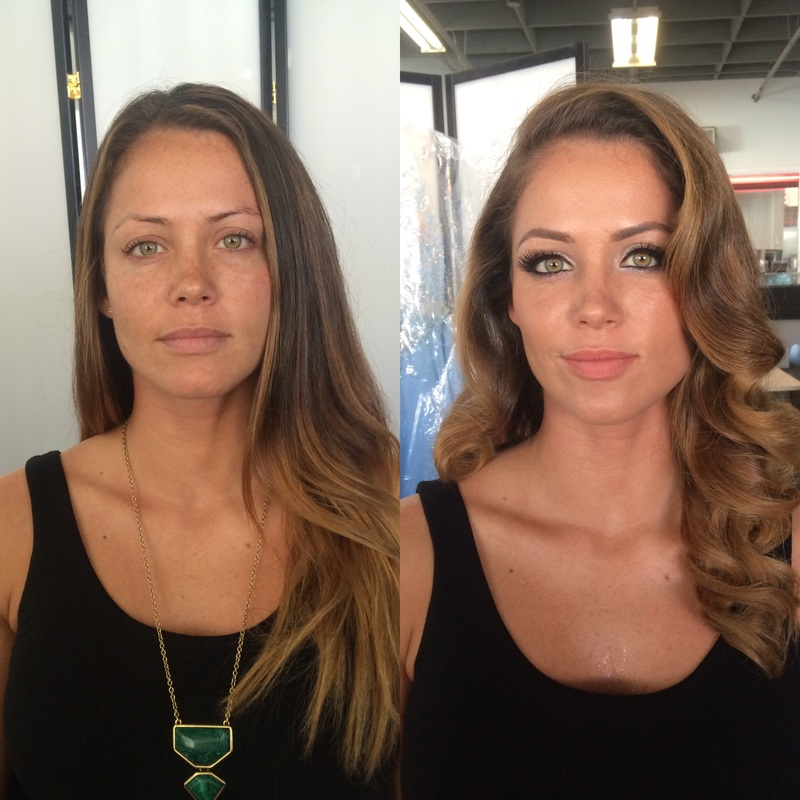 military ball hawaii makeup artist