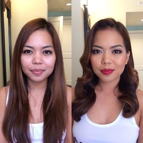 Hawaii Makeup Artist Before and Afters